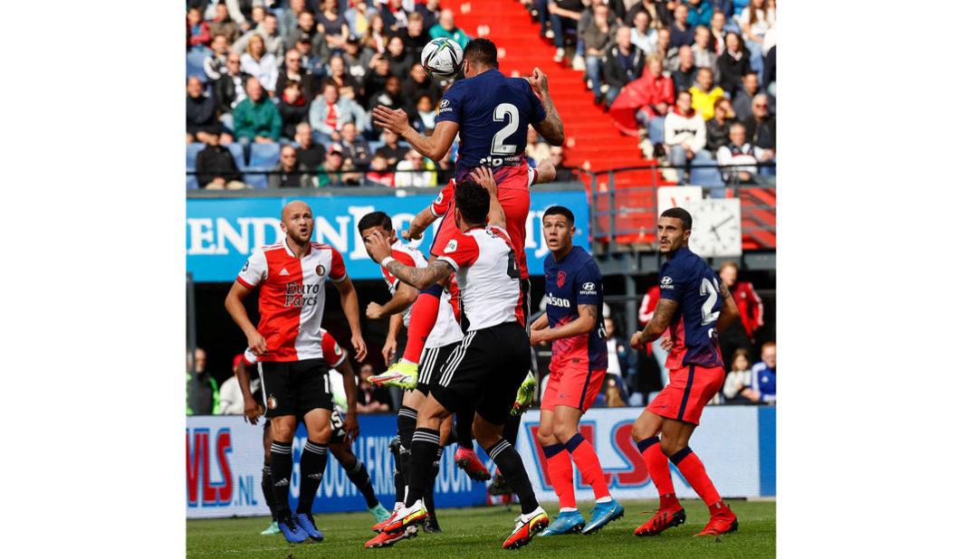 Atlético de Madrid cae en amistoso ante Feyenoord