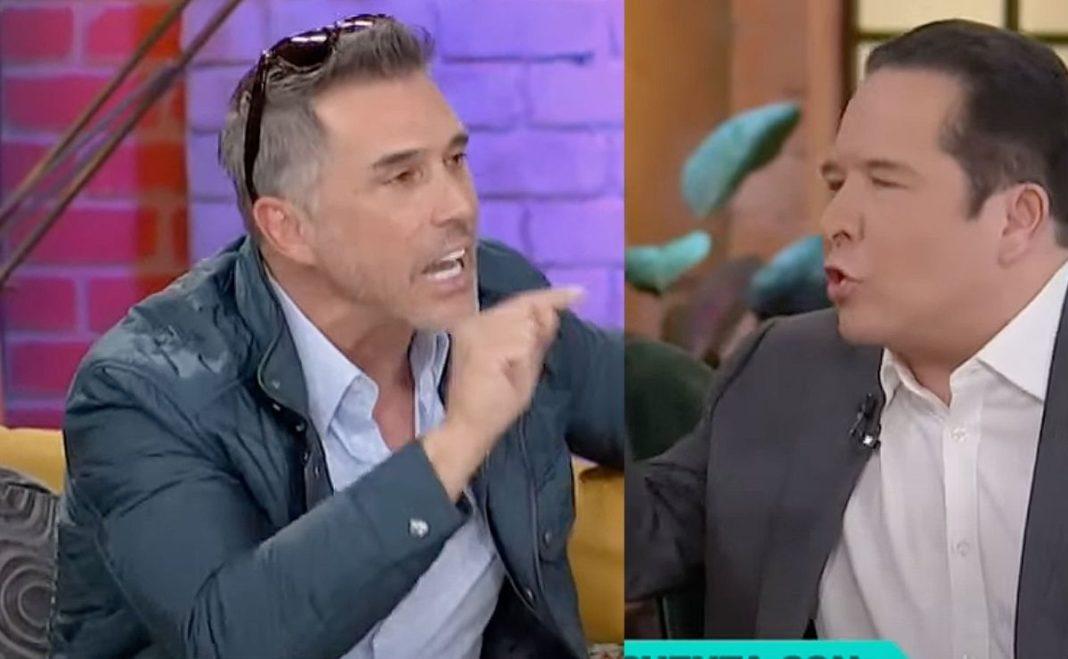 Gustavo Adolfo Infante explota contra Sergio Mayer