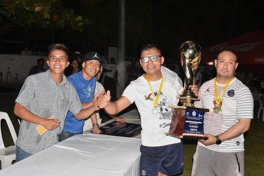 Goating Kings gana el Torneo de Futbol 7 de la Liga de Tejería El Volcán; venció en la final a Fusión H&M