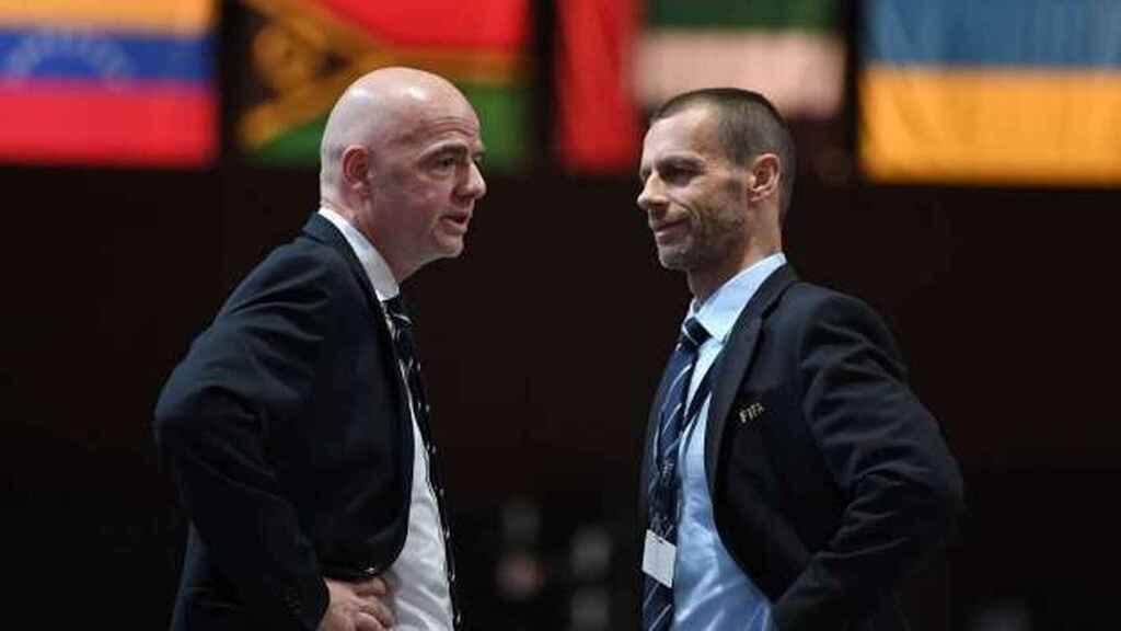 UEFA amenaza con boicotear el Mundial si se disputa cada dos años