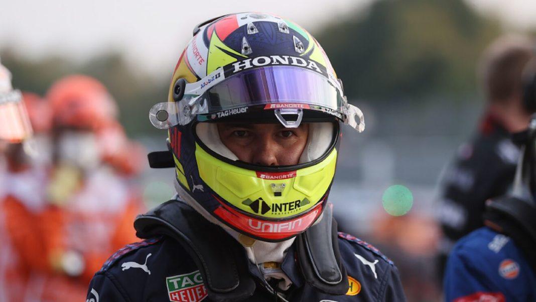 Checo Pérez se molesta por su actuación en las clasificaciones de Monza