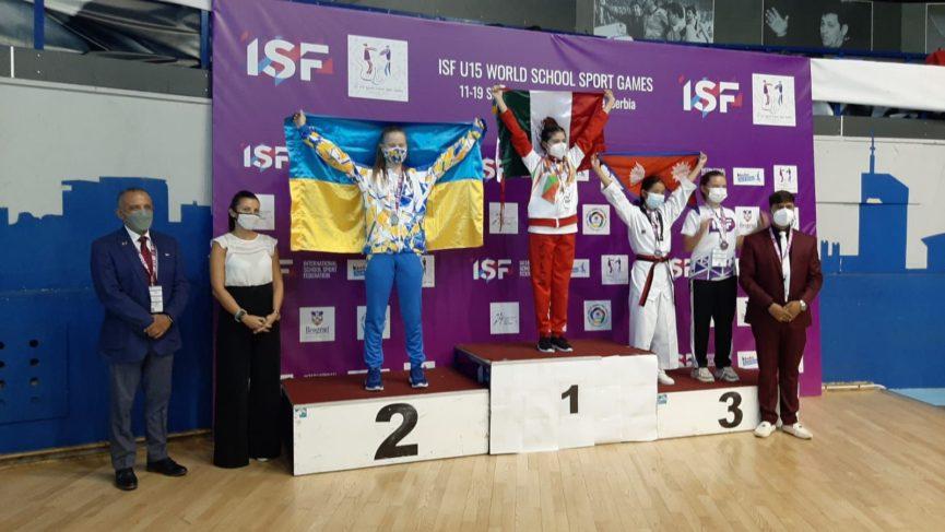 México suma cuatro medallas en el Campeonato Mundial Escolares Sub-15; Veracruz brilló con un par de preseas