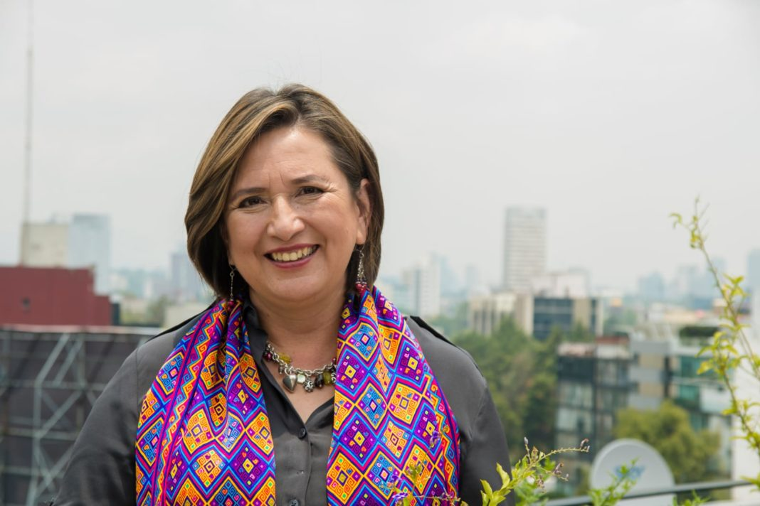 Senadora Xóchitl Gálvez, en reunión mensual de Coparmex Veracruz