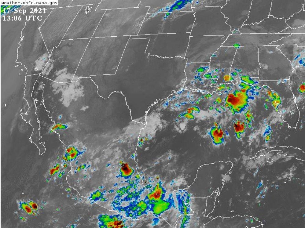 Clima en Veracruz: Se esperan lluvias y tormentas el fin de semana