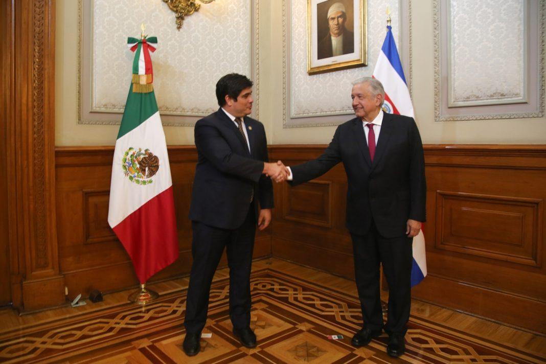 AMLO se reúne en Palacio Nacional con presidentes de América Latina