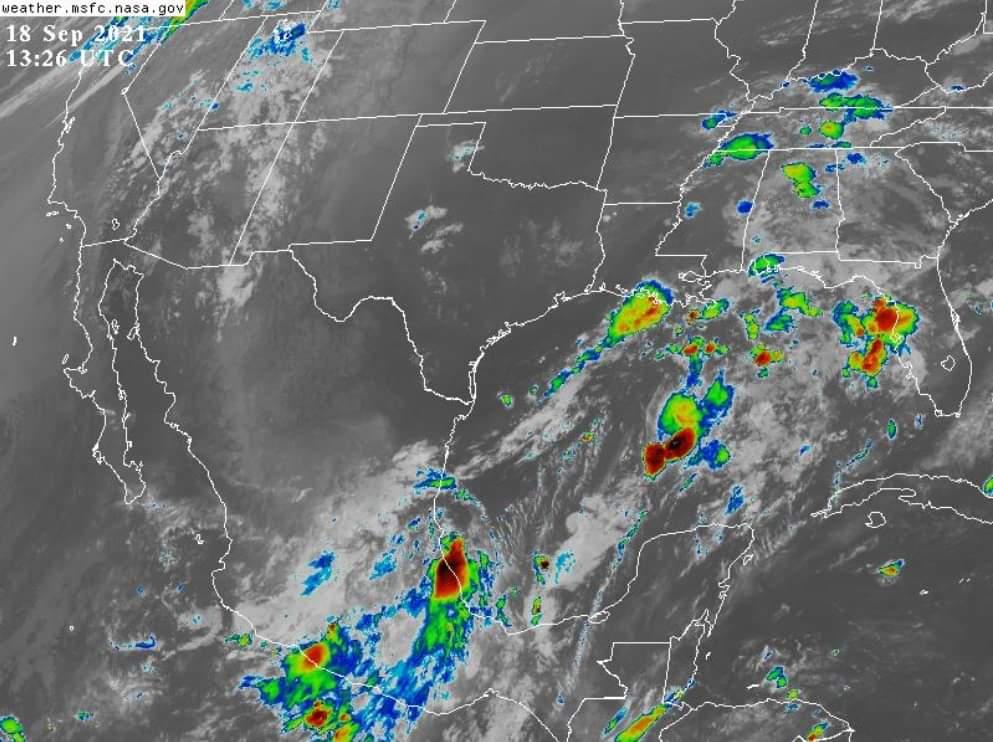 Clima en Veracruz: se prevé un sábado con lluvias y tormentas