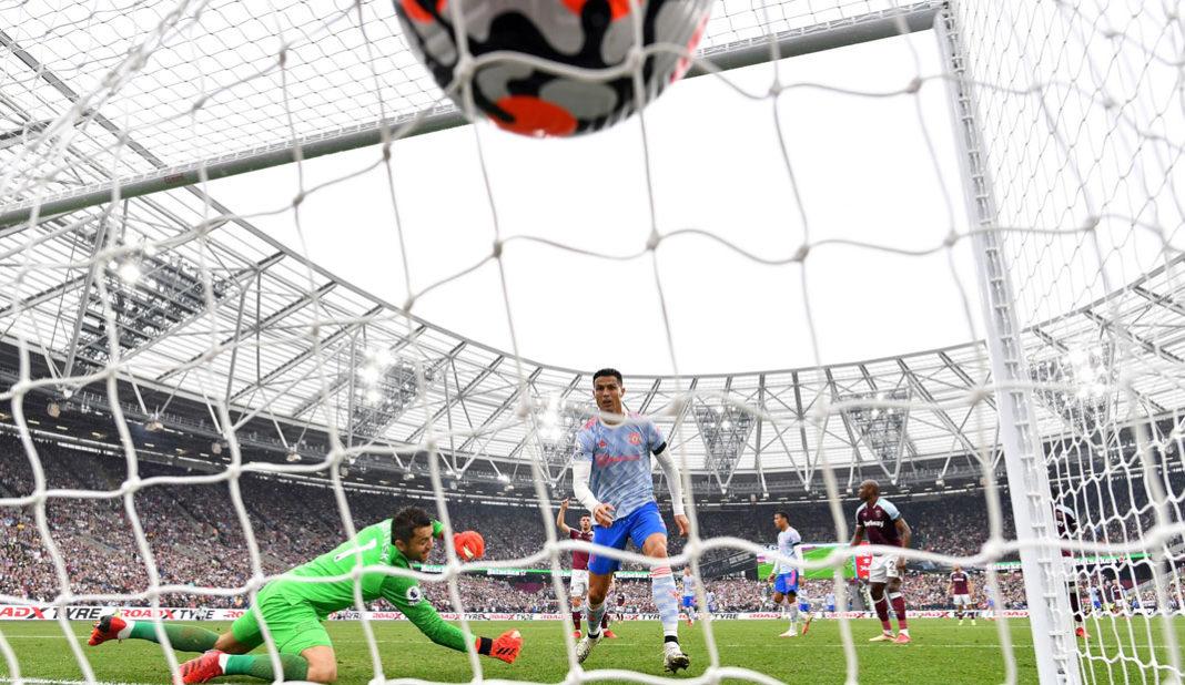 Cristiano Ronaldo marca su tercer gol de la temporada