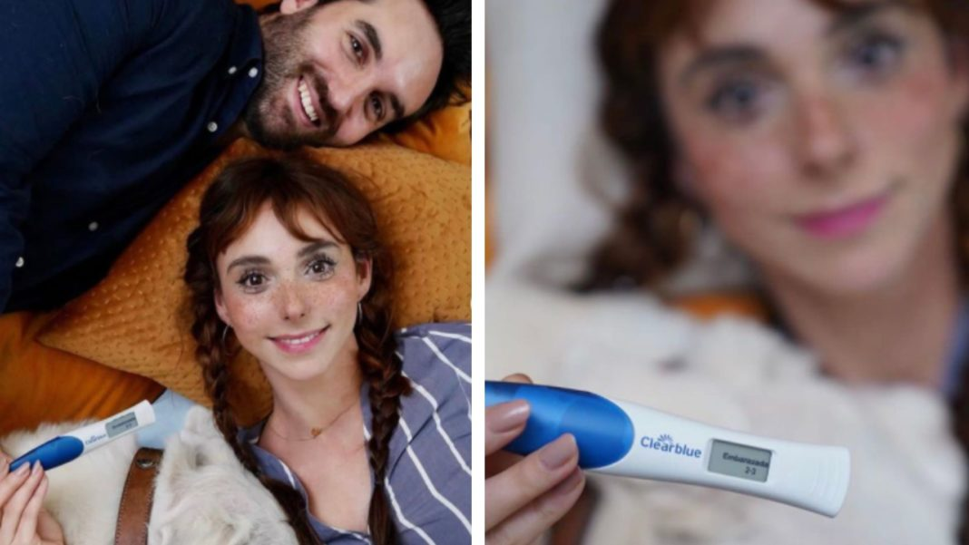 Natalia Téllez anuncia que está embarazada