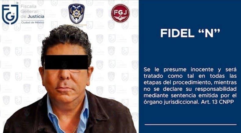 Fiscalía del Estado de México confirma la detención de Fidel Kuri; se encuentra recluso en Almoloya de Juárez