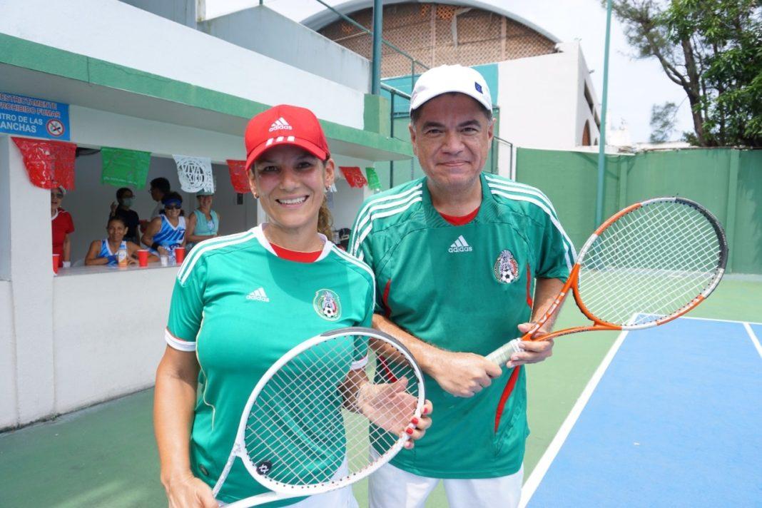 Centro Deportivo Veracruzano celebra el mes patrio con torneo de tenis