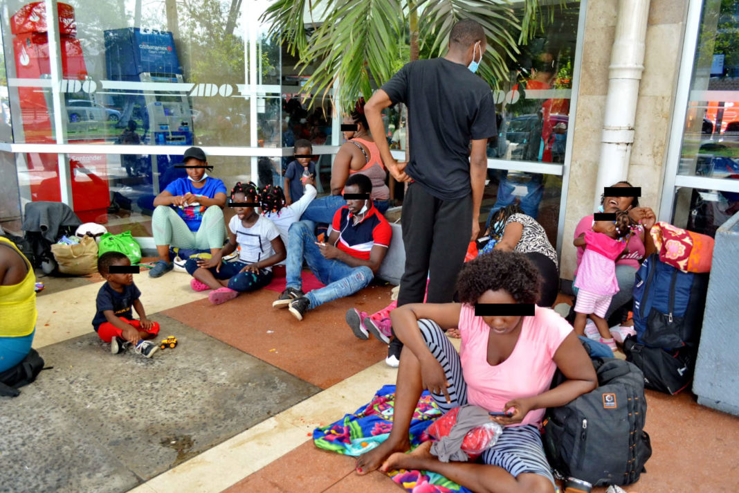 Imparable el flujo de migrantes haitianos por la conurbación Veracruz-Boca del Río