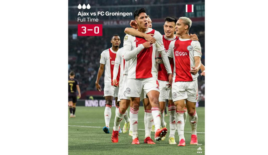 Edson Álvarez anota golazo en victoria del Ajax