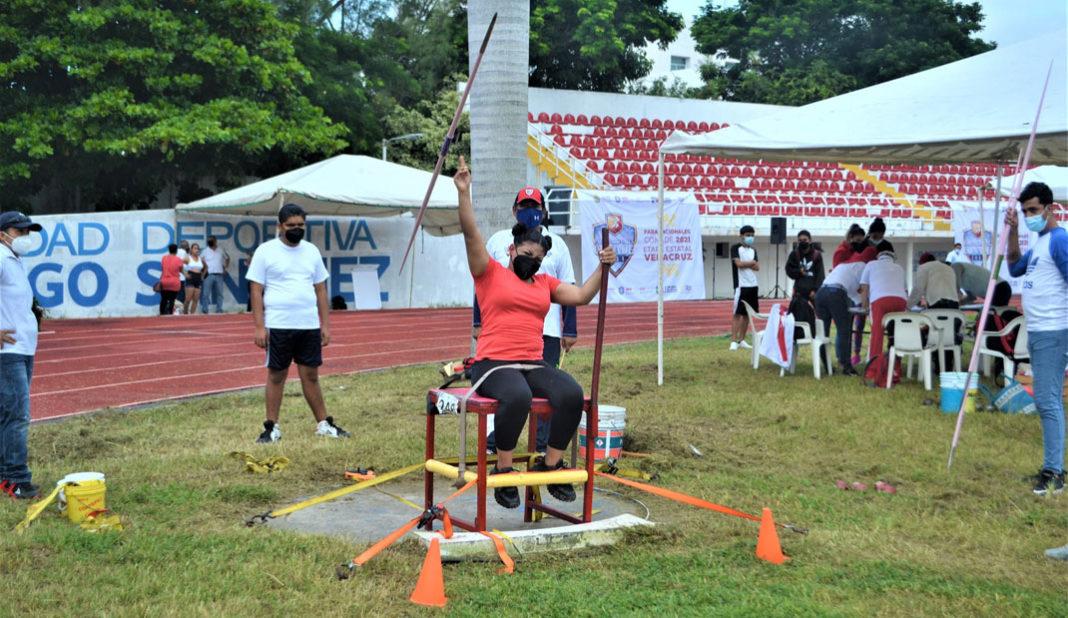 Realizan Etapa Estatal de Para-Atletismo