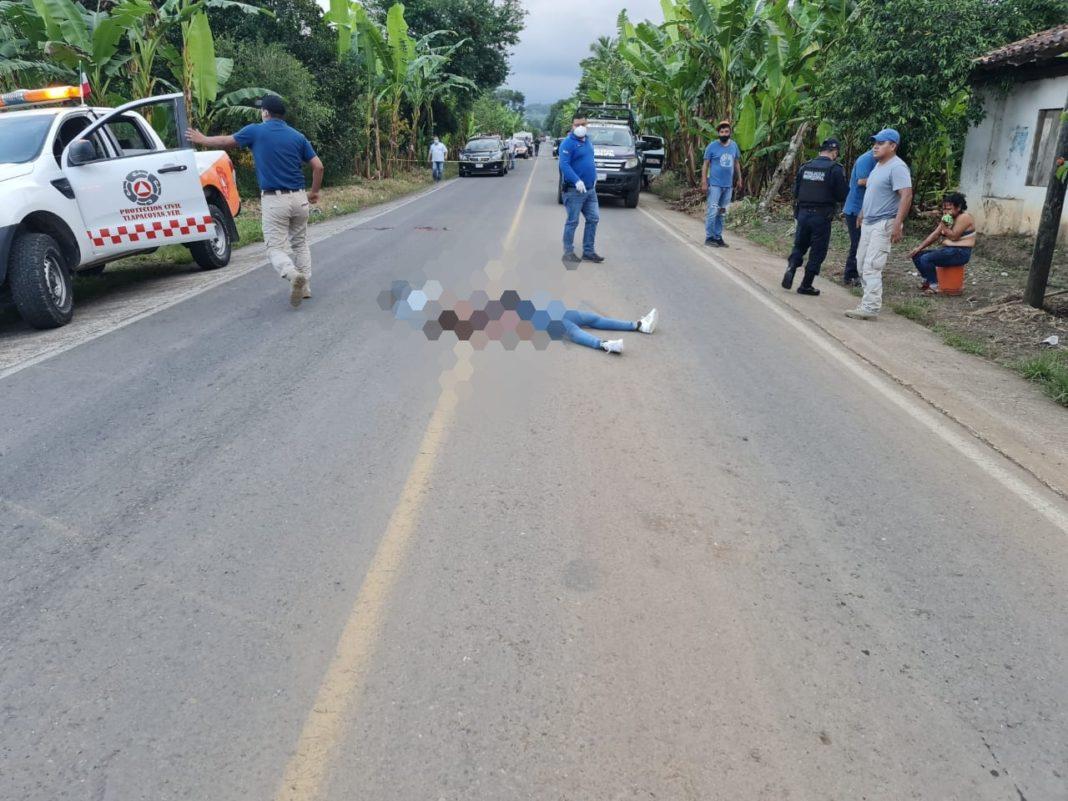 Asesina a su exnovia y deja lesionada a otra mujer, en Tlapacoyan