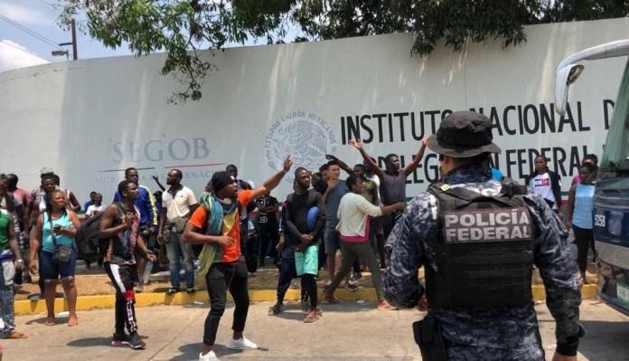 México refugiará a más de 13 mil haitianos, informa Marcelo Ebrard